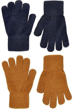 CeLaVi Handsker - Handsker - Uld/Nylon - 2-pak - Pumpkin Spice/Navy