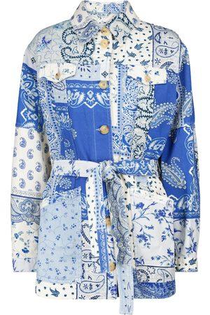 Etro Patchwork cotton jacket