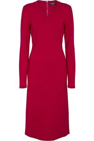 Dolce & Gabbana Kvinder Midikjoler - Exclusive to Mytheresa – Stretch-wool midi dress