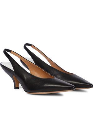Maison Margiela Kvinder Pumps sandaler - Leather slingback pumps