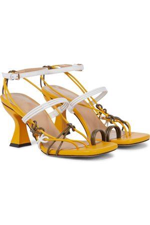 J.W.Anderson Kvinder Pumps sandaler - Leather sandals