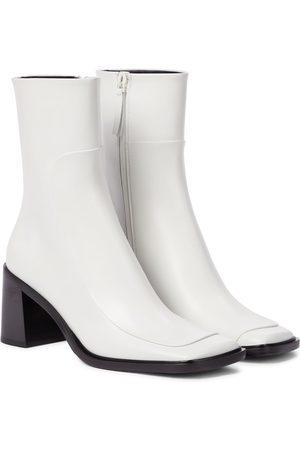 The Row Kvinder Ankelstøvler - Patch leather ankle boots
