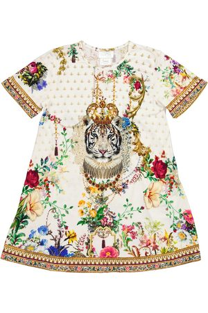 Camilla Printed cotton jersey dress