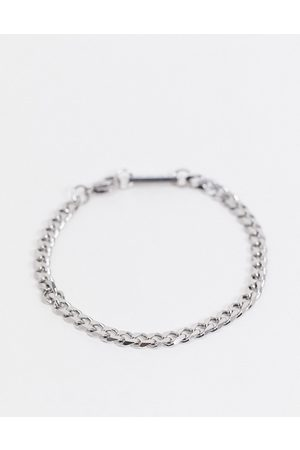 Icon Brand Sølvfarvet armbåndsur i rustfrit stål