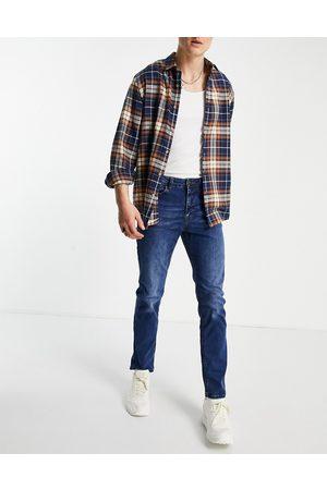 New Look Mellemblå slim-jeans