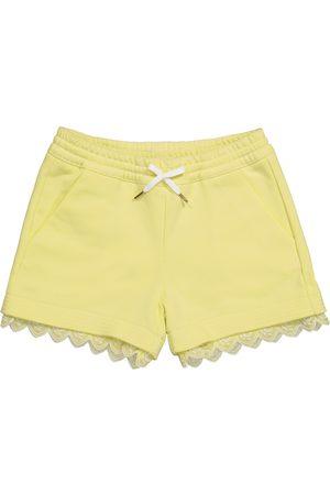 Chloé Cotton-blend jersey shorts
