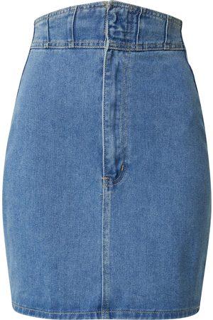 Missguided Kvinder Denimnederdele - Nederdel
