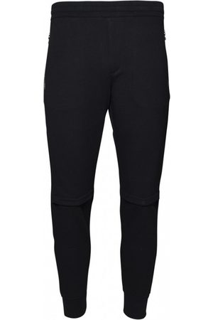 Alexander McQueen Logo patch track trousers