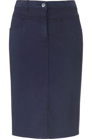 Peter Hahn Kvinder Nederdele - Nederdel elastisk linning Fra blå
