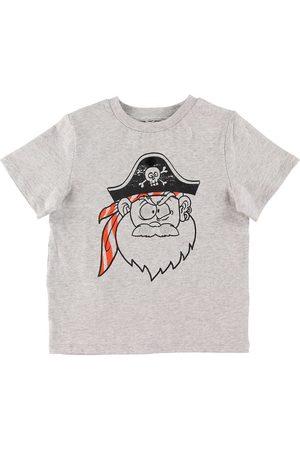 Stella McCartney Kortærmede - T-shirt - Pirate - Gråmeleret m. Pirat