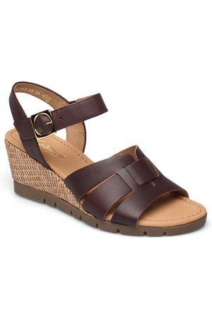 Gabor Kvinder Pumps sandaler - Ankle-Stap Sandal Espadrillos Med Hæl Sandal