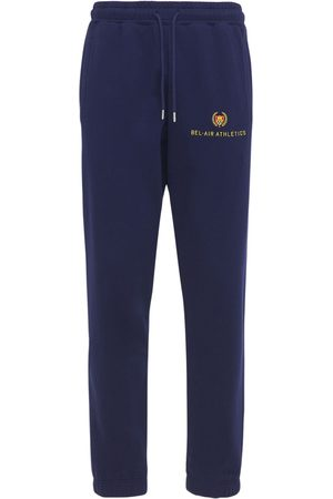 BEL-AIR ATHLETICS Mænd Joggingbukser - Athletics Logo Embroidered Sweatpants