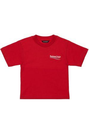 Balenciaga Piger Kortærmede - Organic Cotton T-shirt