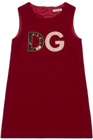 Dolce & Gabbana Piger Kjoler - Stretch Cady A-line Dress
