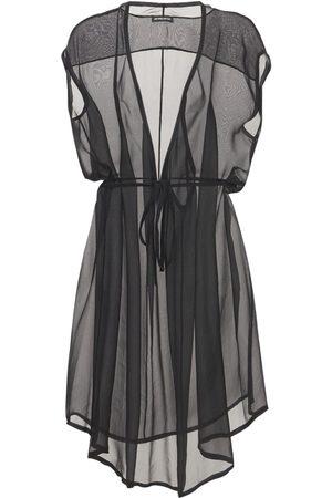 ANN DEMEULEMEESTER Kvinder Kjoler - Silk Sheer Muslin Dress