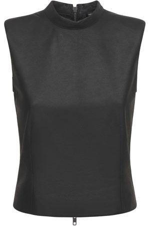 ANN DEMEULEMEESTER Kvinder Toppe - Angelina Sleeveless Leather Top