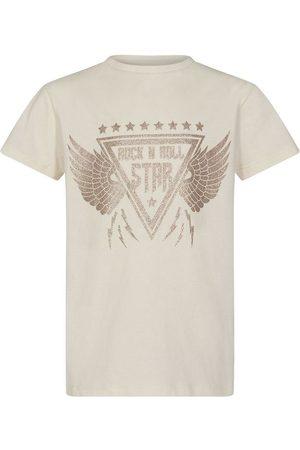 PETIT by Sofie Schnoor Kortærmede - T-shirt - Felina - Off White m. Print