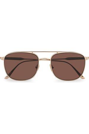 Tom Ford Mænd Solbriller - Jake Sunglasses Shiny Rose Gold/Brown