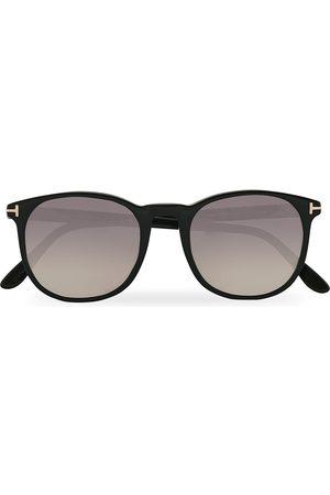 Tom Ford Mænd Solbriller - Ansel Sunglasses Shiny Black/Smoke Mirror