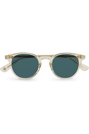 Garrett Leight Clement Sunglasses Pure Glass/Pure Bluesmoke