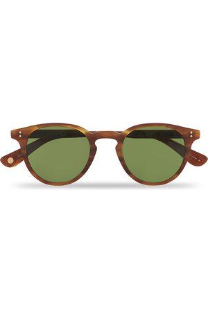 GARRETT LEIGHT Mænd Solbriller - Clement Sunglasses Matte Honey/Pure Green