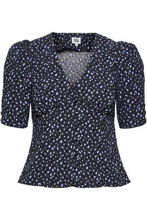 Twist & tango Riley Blouse Blouses Short-sleeved Blå