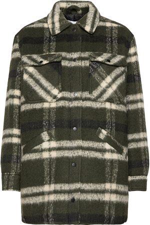 Envii Enalder Jacket 6767 Uldfrakke Frakke Grøn