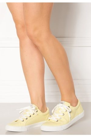 ONLY Kvinder Casual sko - Sunny Canvas Sneaker Yellow Pear 39