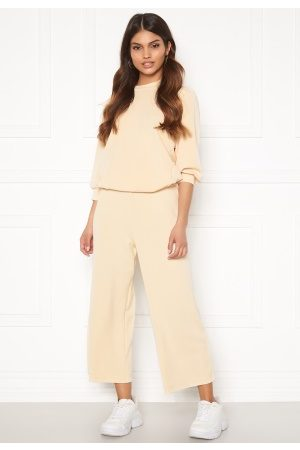 Selected Kvinder Kassebukser - Tenny MW Cropped Wide Pant Birch L