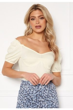 ONLY Niff S/S Top Cloud Dancer L