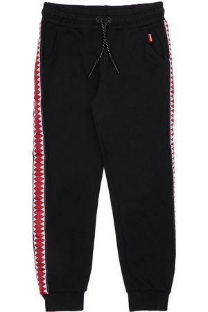 Sprayground Cotton Sweatpants W/ Side Bands