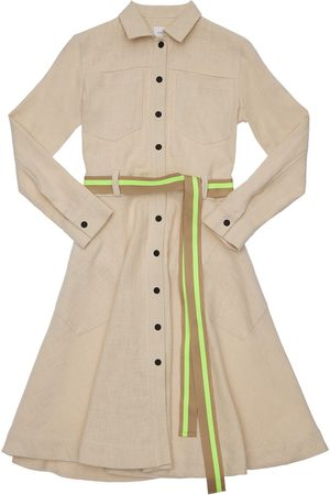 Unlabel Long Sleeve Dress W/ Belt