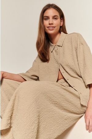 NA-KD Kvinder Kortærmede skjorter - Kortærmet Skjorte