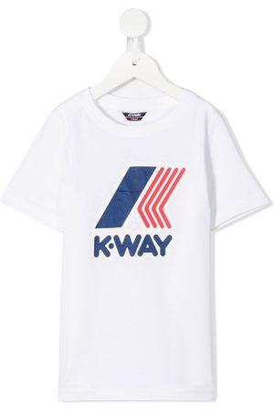 K-Way T-shirt med logotryk