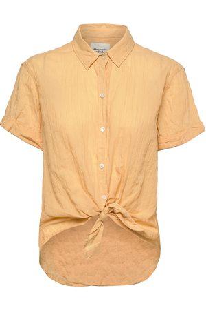 Abercrombie & Fitch Anf Womens Wovens Kortærmet Skjorte