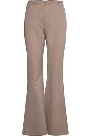 Hope Flare Trousers Bukser Med Svaj