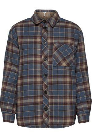 Object Objbanja Shirt Jacket Sommerjakke Tynd Jakke Grå