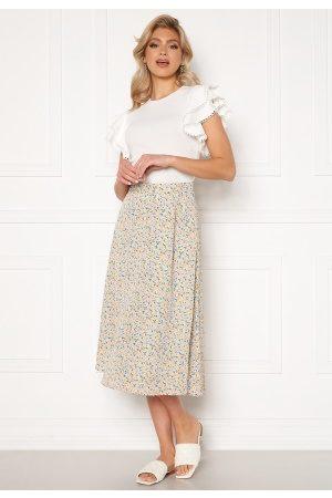 Y.A.S Kaydel Hw Long Skirt Cornflower Blue/ AOP S
