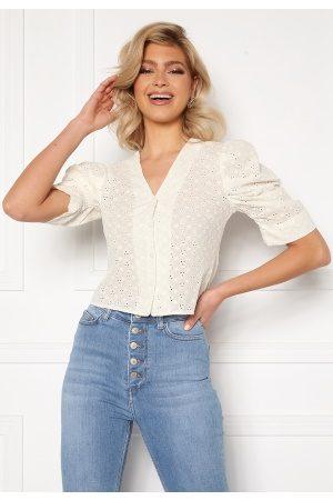 Trendyol Kvinder Casual skjorter - Puff Sleeve Top Ecru 42