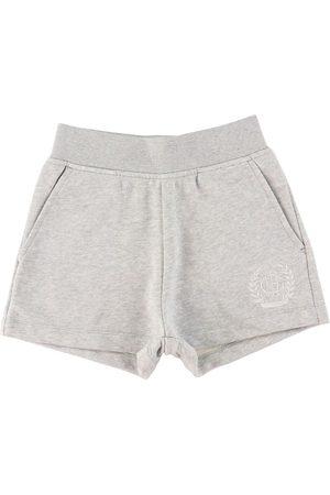 GANT Shorts - Sweatshorts - Monogram - Lysegråmeleret