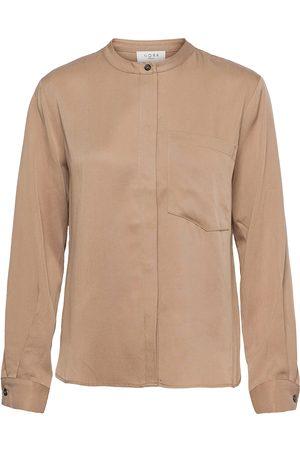 Norr Jade Shirt Langærmet Skjorte Lyserød
