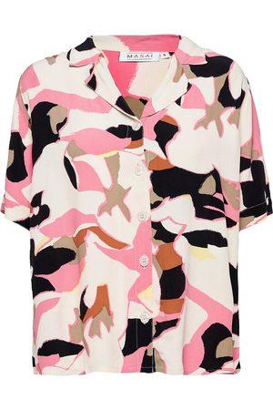 Masai Kvinder Kortærmede skjorter - Id Kortærmet Skjorte Lyserød