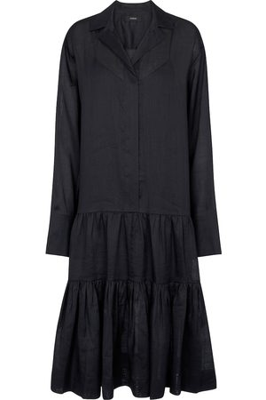 Joseph Dan ramie shirt dress