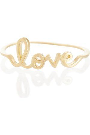 Sydney Evan Love 14kt gold ring