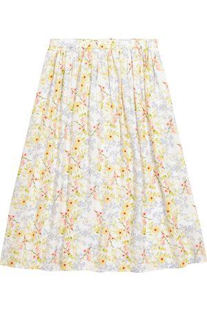 PAADE Piger Nederdele - Viola floral satin skirt