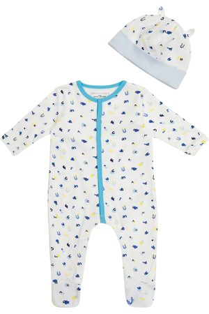 The Marc Jacobs Baby cotton jersey onesie and hat set
