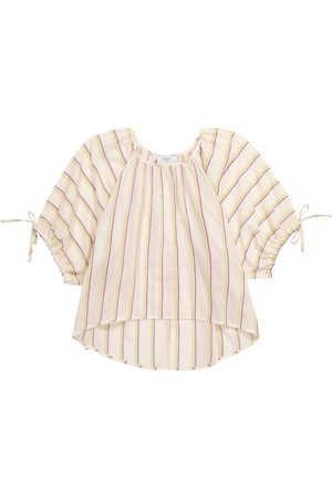 PAADE Noel striped cotton top