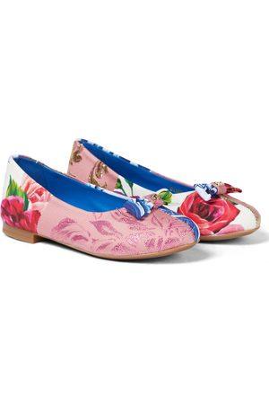 Dolce & Gabbana Piger Ballerina - Printed ballet pumps
