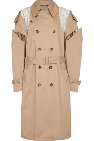 Maison Margiela Deconstructed cotton trench coat