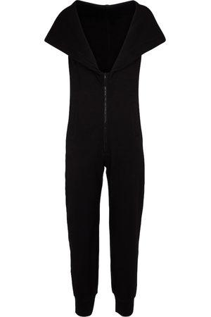 Norma Kamali Stretch-cotton jersey jumpsuit